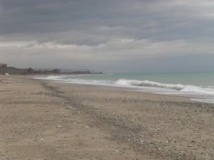 Strand bij Santa Caterina dello Ionio
