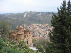 La  Cattolica in Stilo, een Grieks-Byzantijns kerkje