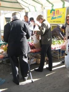 Op de markt in Soverato