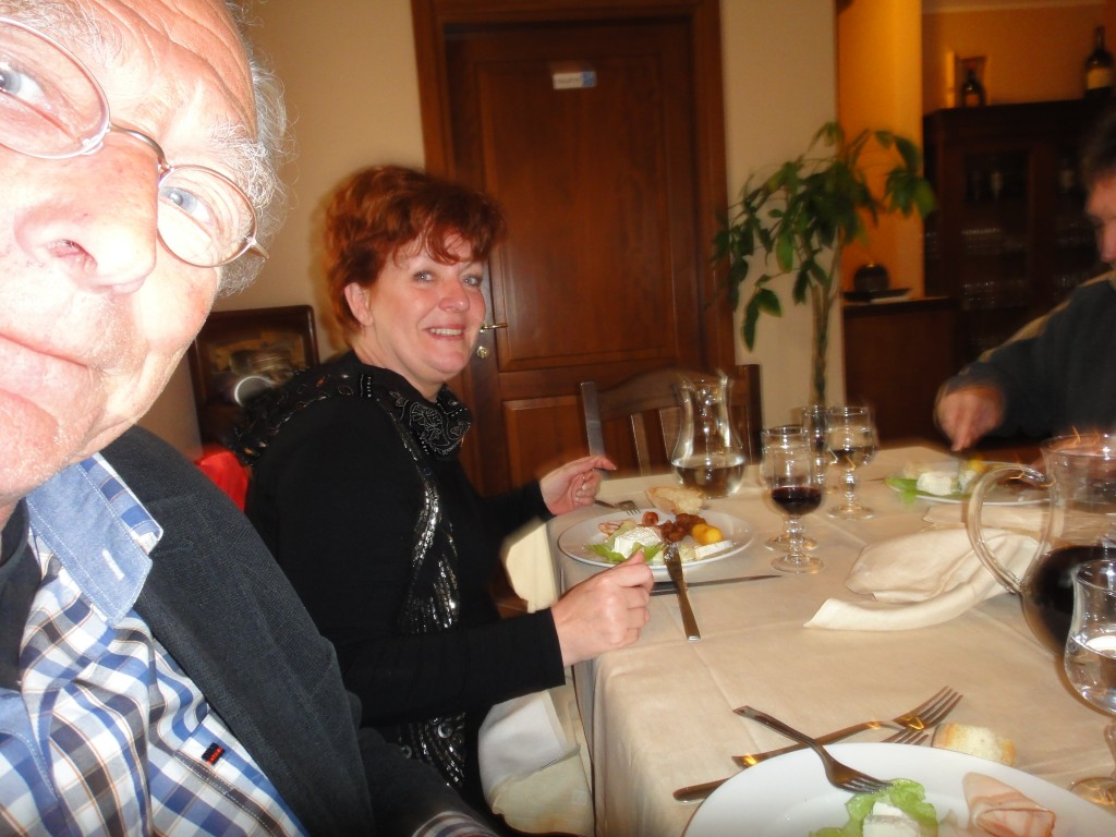 Zondag lunch bij de famiglia Rudi in La Sena.