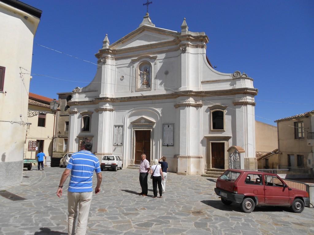 De kerk van Santa Caterina.
